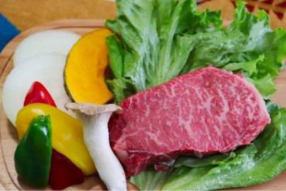 BBQ A5ランク飛騨牛ステーキセット